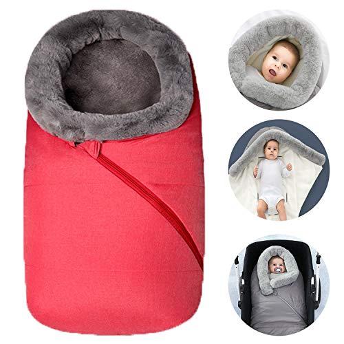 Bospyaf slaapzak voor kinderwagen, dikke deken voor herfst en winter