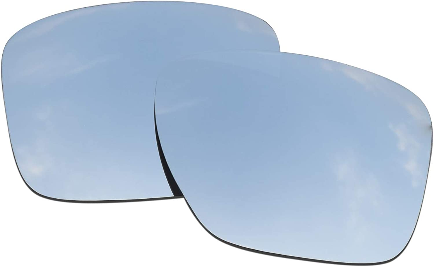 SOODASE For Factory outlet Oakley Sliver XL Sunglasses Silver Very popular! Polarized Replace
