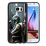 CASE LOCK LTD -SW Darth Vader Storm Trooper Han Solo Yoda R2D2 Jedi -Hard Rubber Case for New Samsung Galaxy S7, Made in The USA -Style 12