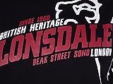 Lonsdale London Tenby Maglia di tuta Uomo