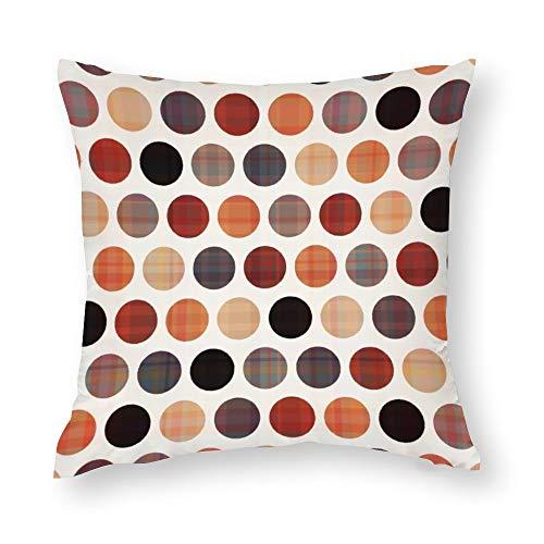 YY-one Fundas de almohada decorativas sin costuras, con textura de fondo, funda de cojín decorativa de algodón para sofá, silla, cuadrado, 55,8 x 55,8 cm