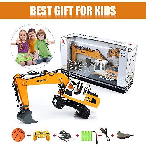 RC Auto kaufen Baufahrzeug Bild 6: KEISL 3-in-1 Ingenieurmaschinen-Auto, RC Bagger, Fernbedienung, Traktor, Spielzeug, Baufahrzeuge*