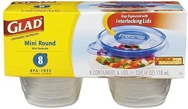 COX70240 - GladWare Mini Round Food Storage Containers