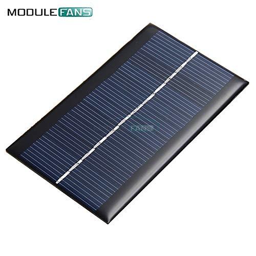Mini 6V 1W Solar Panel Bank Solar Power Board Modul Portable DIY Power für leichte Batterie-Handy-Spielzeug-LadeGeräte