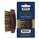 Wahl Small Travel Beard Brush with 100% Boar Bristles with Firm Natural Hair for Grooming & Styling...