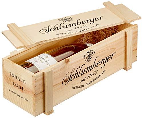 Schlumberger Sparkling Doppelmagnum in Holzkiste (1 x 3 l)