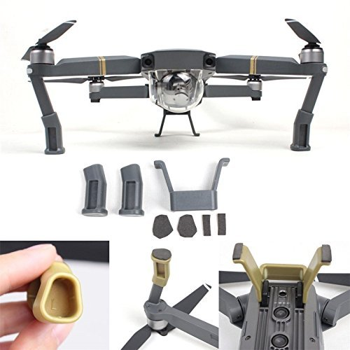 Waterproof Collapsible Foldable Drone Landing Pad for DJI Tello Mavic 2 Zoom Mavic 2 Pro, Mavic Air Pro Platinum Phantom 3 4 Spark Accessories High Contrast