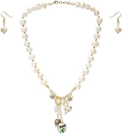 3a014f8e635a Collar corto de perla cultivada barroca