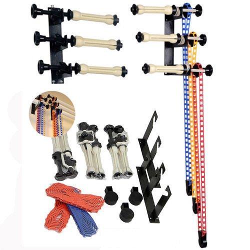 Phot-R® 3-Roller Wandhalterung Fotostudio Hintergrund Stützsystem