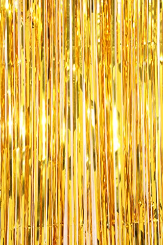 Coucoland Metalen Tinsel Gordijnen Foil Fringe Shimmer Gordijn Achtergrond Verjaardag Decoratie Deurraam Decoratie voor Verjaardag Bruiloft Feestartikelen
