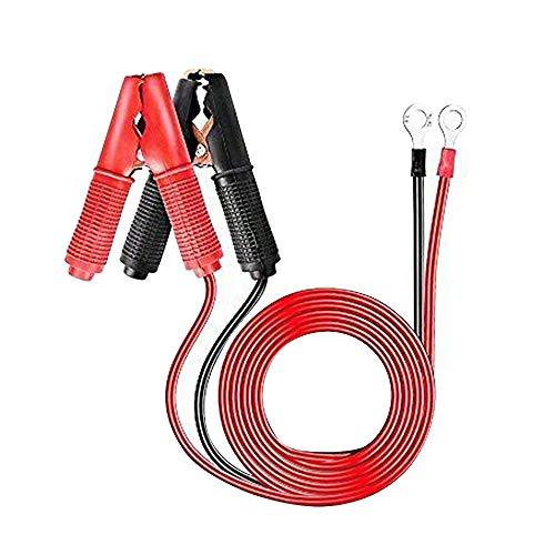 MEROURII Cable de Abrazadera de batería de 2 Piezas 20A 300V, para inversor de Alta Potencia, batería de automóvil, Otro Dispositivo