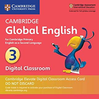 Cambridge Global English Stage 3 Cambridge Elevate Digital Classroom Access Card (1 Year): for Cambridge Primary English as a Second Language