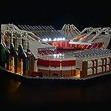 SIROD Kit de Luces LED Kyglaring para Lego 10272 Old Trafford Manchester United con Bloques de construcción de luz de Control Remoto Ladrillos para Lego 10272 Kit de (Modelo 10272 NO Incluido)