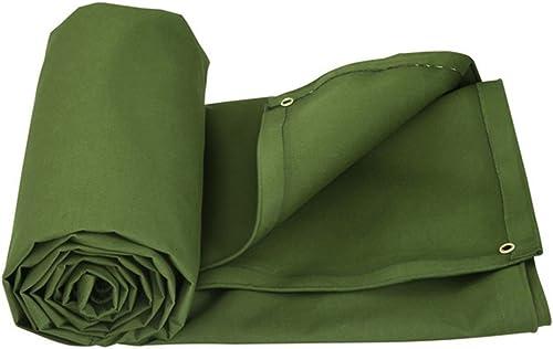 WKLVST Bache vert Un écran Solaire Bache Bache Pare - Soleil. La Toile Hhickening Imperméable L'isolation Thermique Dustproof Résistant à l'usure La Ventilation,500  400Cm
