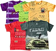 YelloWear Boys Printed T-Shirts