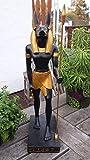 MC Deko Figur Ägyptische Mythologie Anubis stehend 22 cm aus Polyresin - 4