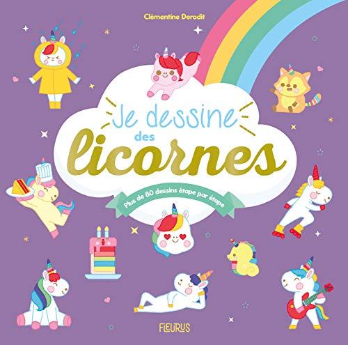 Je dessine des licornes (French Edition)