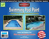 5. AdCoat Swimming Pool Paint, 2-Part Epoxy Acrylic Waterbased Coating, 1 Gallon Kit - Cool Blue Color