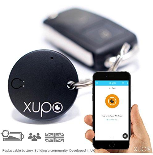 Xupo Key Finder Localizador y Faro, Islas diseño Smart Tracker Etiqueta como Visto en Dragones de Den