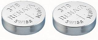 Pile de montre de Renata Renata fait-Swiss 379 ou SR521SW OR AG0 1.5V (2 x 379 ou SR 521 SW)
