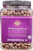 Wellsley Farms Milk Chocolate Covered Raisins, 50 Oz.,, ()