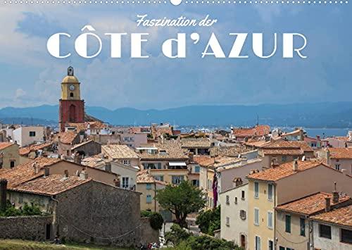 Faszination der Côte d\'Azur (Wandkalender 2022 DIN A2 quer)