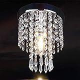 CEXTT Lámparas de Cristal incrustados lámparas de Techo de Cristal, lámparas Modernas salón Pasillo Pasillo de la Cocina de iluminación Interior del hogar