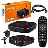 MAG 524 Original Infomir & HB-DIGITAL 4K IPTV Set TOP Box Multimedia...