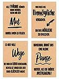 Edition Seidel Set 18 Postkarten Leben & Momente mit schönen Sprüchen gedruckt auf hochwertigem Kraftpapier - Karten mit Spruch - Liebe, Freundschaft, Leben, Motivation, Geburtstagskarten - 7