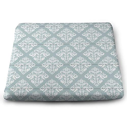 Lfhytd Geometric Classic Square Cotton Seat Cushion with Invisible Zipper Popular Handicrafts Pillow Dog-Pets Bed Comforts Washable Cushion Office Chair Car Wheelchair Sitting Anti-Slip Pillow