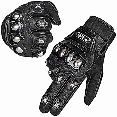ILM Alloy Steel Touchscreen Bicycle Motorcycle Motorbike Powersports Racing Gloves