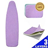 Best Ironing Board Covers - BRAMING 13-15 Inch x 53-54 Inch Ironing Board Review
