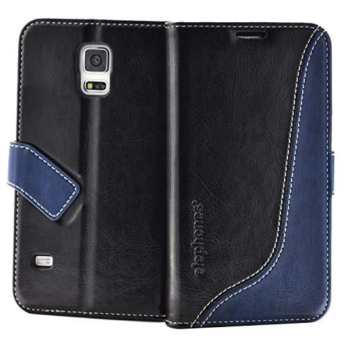 elephones Schutzhülle geeignet für Samsung Galaxy S5 / S5 NEO Hülle Handyhülle Handy-Tasche Wallet Hülle Cover