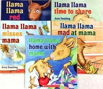 Llama Lama 5-Book Pack  Llama Llama Red Pajama Llama Llama Time to Share Llama Llama Misses Mama Llama Llama Mad at Mama Llama Llama Home with Mama