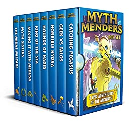 Myth Menders Box Set: 8 Epic Adventures of the Ancients! by [Lisa Thompson, Reading Eggs, Nahum Ziersch]