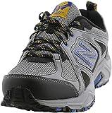New Balance Men's 481 V3 Trail Running Shoe, Steel/Black, 7 M US