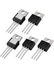 Kuinayouyi 5 Stks 3 Terminals 1.5A 5V L7805CV Postive Voltage Regulators