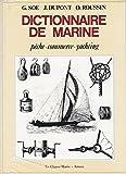 Vocabulaire des termes de marine - Yachting à voile yachting à vapeur yachting automobile...