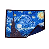 Cool Van Gogh microfiber cleaning cloth.
