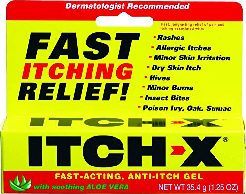 ItchX FastActing AntiItch Gel 125Ounce Tube Pack of 4