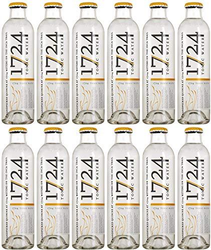 1724 Tonic water glazen flesje