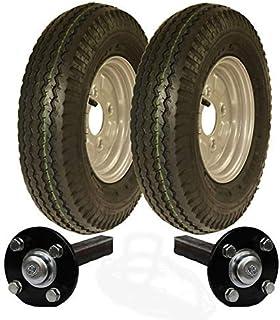 Parnells 400-8 - Kit de Remolque de Alta Velocidad (Ruedas legales para Carreteras