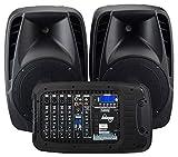 Laney AUDIOHUB Series AH2500D - Portable PA system - 2x500W - 6 channels Bluetooth...