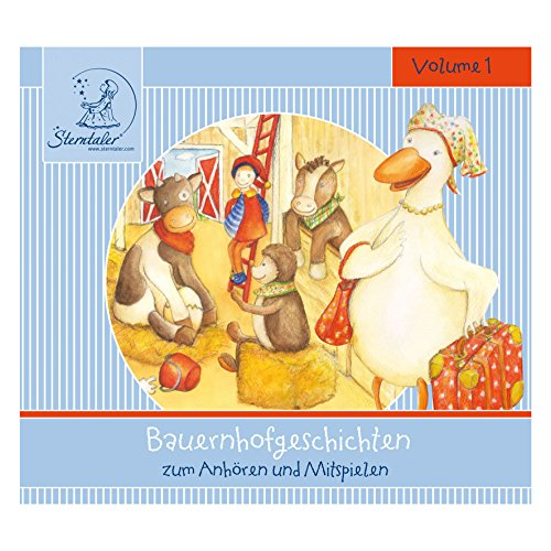 Sterntaler 10355 CD mit Bauernhofgeschichten zum Zuhören und Mitspielen