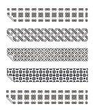 Tiras de Decalques de Vinilo para Escaleras - Pelar and pegar - Autoadhesivo - Decoración para el Hogar Bricolaje - Pack de 5 Tiras