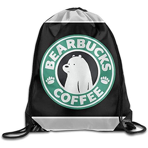 Casual Cinch Pack We Bare Bears Rugzak met trekkoord Gym Bags