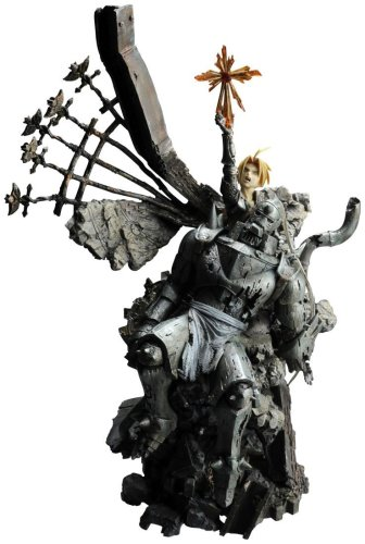 FULL METAL ALCHEMIST Sculpture Arts - Edward & Alphonse Elric