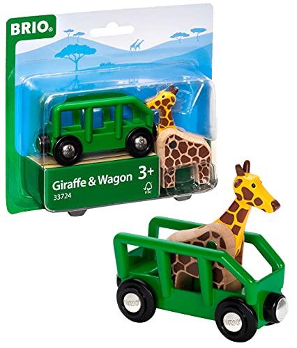 BRIO 33724 - Giraffenwagen Bild