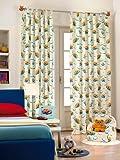 Bedroom curtain Winnie the Pooh 100% cotton light cream 140x290cm G493