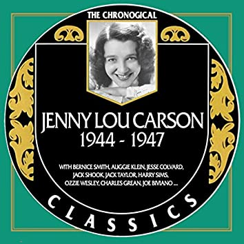 Jenny Lou Carson 1944-1947